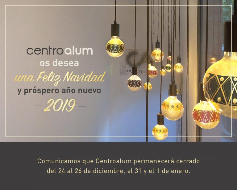 Desde centroalum te deseamos la mejor de las Navidades