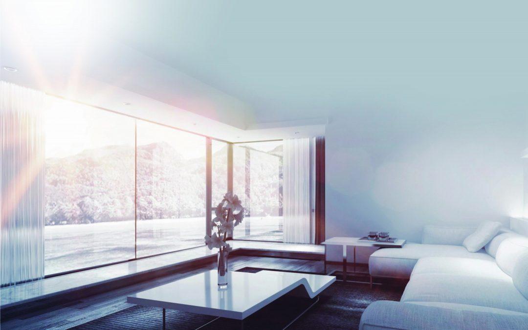 Ventanas minimalistas, el encuentro natural de la luz con la forma