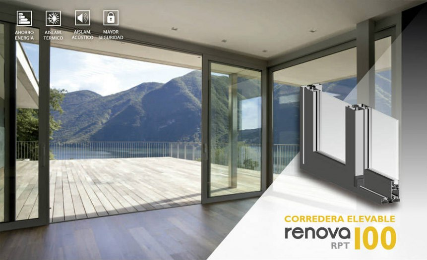 Finestra corredissa Renova CO RPT Elevable 100